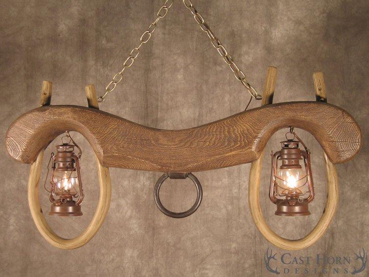 Reproduction Single Ox Yoke Cast Horn Designs