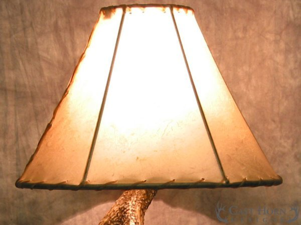 Whitetail Deer 3 Antler Table Lamp