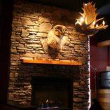 Moose 4 Antler Chandelier