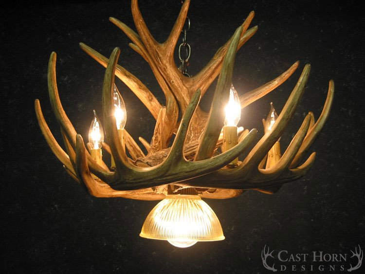 Whitetail deer 9 antler chandelier cast horn designs whitetail deer 9 antler cascade chandelier aloadofball Image collections