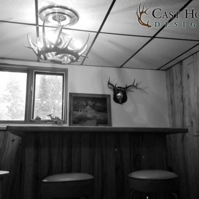 Whitetail Deer 6 Antler Chandelier Giveaway