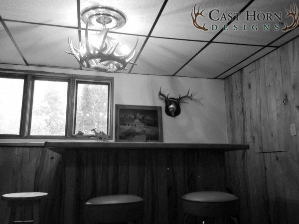 Whitetail Deer 6 Antler Chandelier Giveaway
