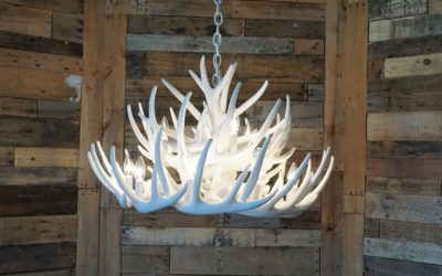 Antler Chandeliers: Rules For Finding The Right Size