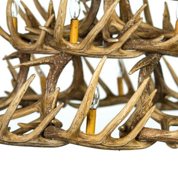 wooden ships wheel chandelier