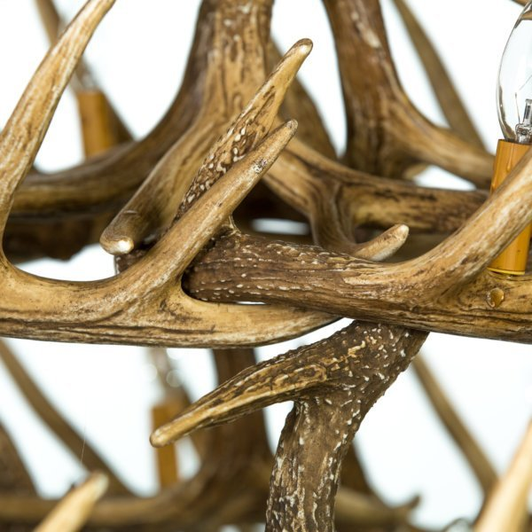 Whitetail Deer 30 Antler Chandelier