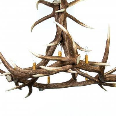 Elk 6 Antler Chandelier