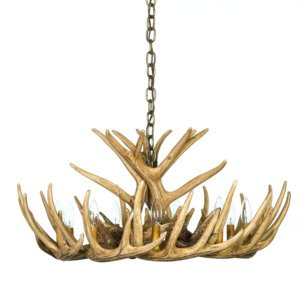 Whitetail deer antler chandeliers cast horn designs whitetail deer 12 antler cascade chandelier aloadofball Choice Image