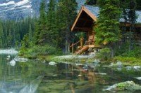 lake front cabins