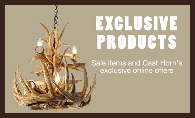 exclusive products from cast horn designs