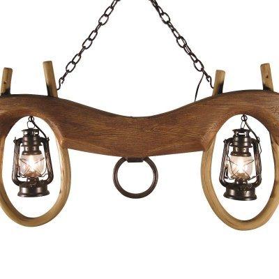 Reproduction Single Ox Yoke 2 Lantern Light