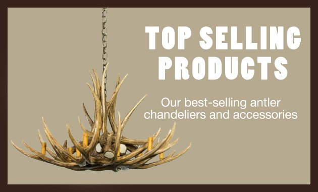top selling products from cast horn designs