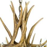 Mule Deer 9 Antler Chandelier