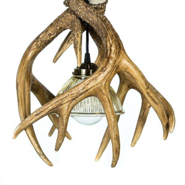 Whitetail Deer 3 Antler Pendant