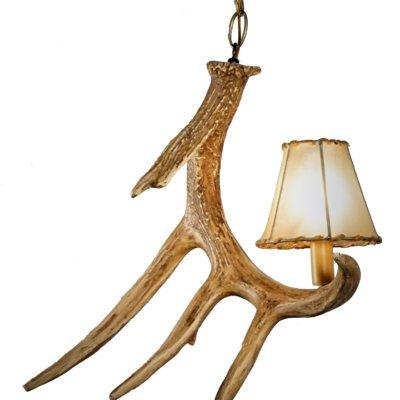 Whitetail Deer 1 Antler Pendant Prototype*