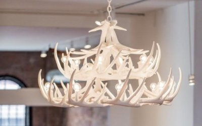 The Appeal Behind Antler Chandeliers