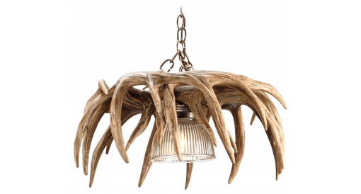 whitetail antler chandelier profile image