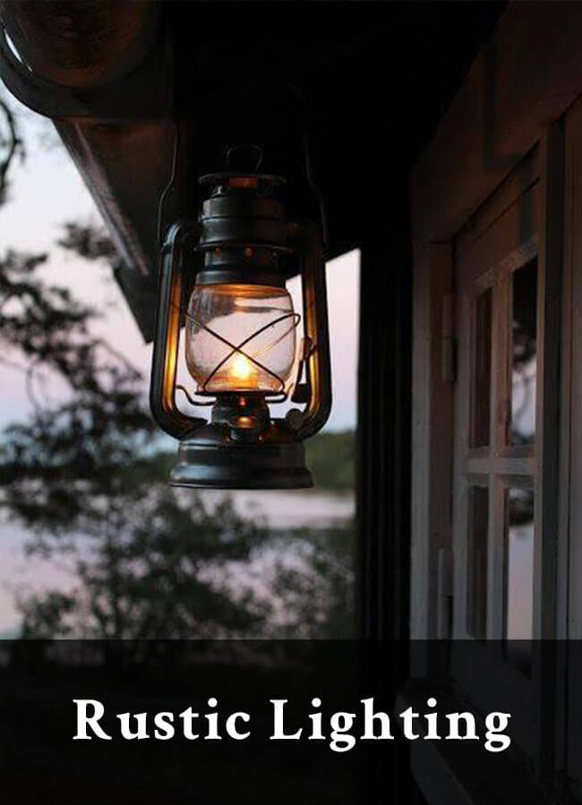 Rustic Lighting for your home or cabin