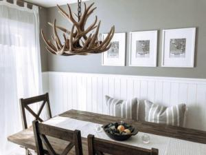 Whitetail 9 Antler Chandelier